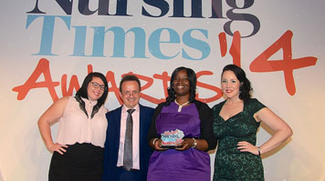 Student Nursing Times Awards 2014