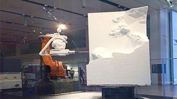 Digital Architecture Robotics robotic arm