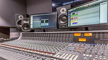 Sound Studio, Elephant Studios at LSBU