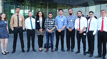 The students who took part in the Engineering for People Design challenge