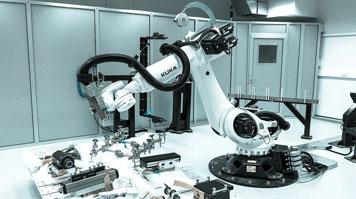 DARLAB robot at London South Bank University