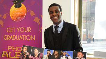LSBU entrepreneur Olasile Saromi