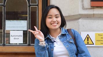 Gaile Consolacion, Student Ambassador