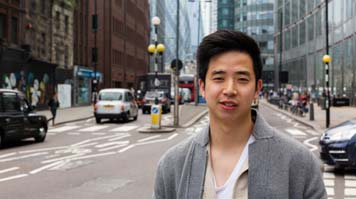 Michael Le, alumnus, International Marketing MSc
