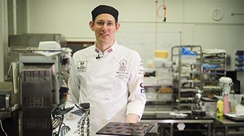 LSBU chocolatier Barry Johnson to represent UK in world's biggest chocolate contest