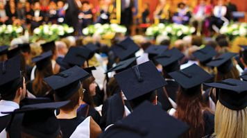 Group of students at graduation