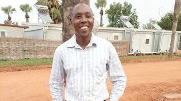 Owor Lino Ogora,  MSc Education for Sustainability