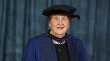 Professor Diana Kloss MBE is one of the country's leading authorities on occupational health and has been awarded an Honorary Fellowship award by LSBU.
