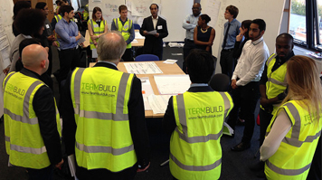 LSBU students take part in the second-ever 'Student Team build' competition