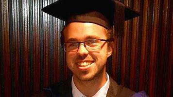 Matthew Wellington, LSBU alumnus