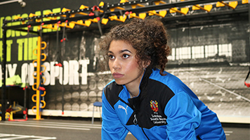 Yasmin Miller recently won a gold medal at the BUCS Nationals