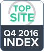 Top site Q4 2016 index