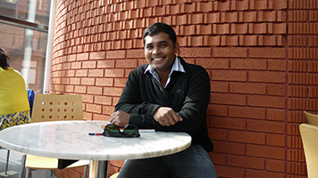 Mahesh Dissanayake, BEng Electrical and Electronic Engineering, international student