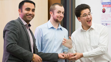 Winners of the LSBU Pitching Competition
