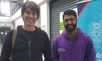 Renowned physicist Brian Cox addresses African knowledge exchange conference at LSBU