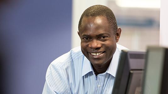Jonathan Karusoke, MSc Public Health & Health Promotion, scholarship recipient