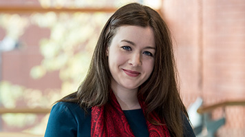 Laura Foley, LLM International Human Rights & Development, scholarship recipient