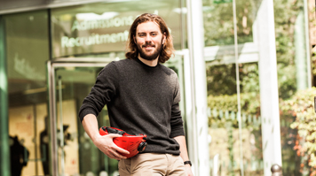 Rupert Cain, BSc (Hons) Product Design, fold-up helmet