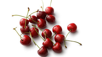 A bunch of cherries