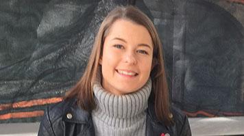 Olivia Jayne Kemp, alumna, BSc (Hons) Bioscience