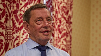 The Right Honourable Professor Lord David Blunkett, Honorary Doctor