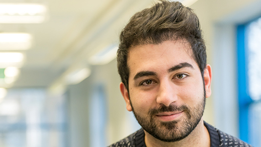 Arash Farhadi, MSc Petroleum Engineering, scholarship recipient