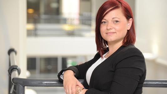Emma Wood, MSc Corporate Governance, employer-sponsored study