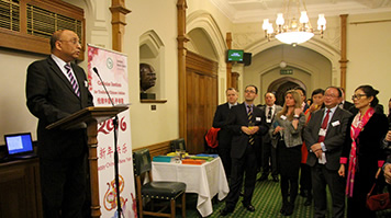 Mark Hendrick MP speaking at the House of Commons