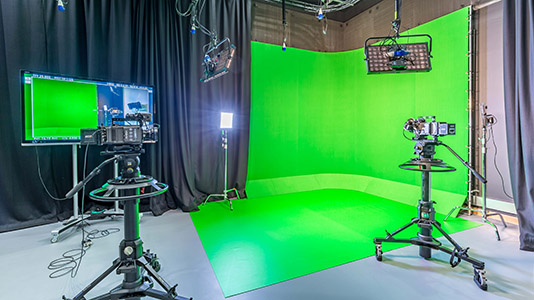 Inside the Film Studio