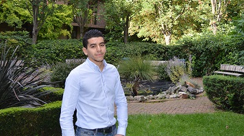 Adel Abbes, international student, Marketing