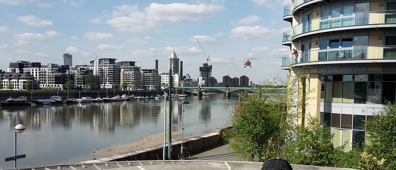 Battersea helicopter