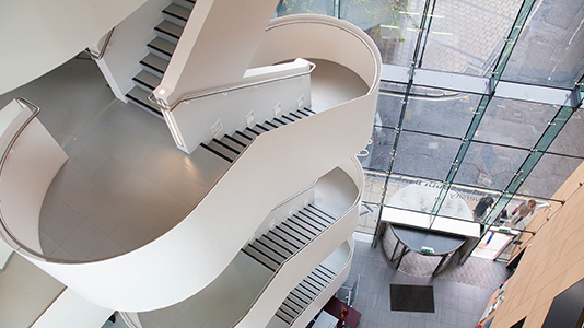 Internal view of K2 building - London South Bank University
