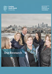 Cover of research community brochure