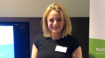 Lauren Webster, student at LSBU, wins at Women in Property Awards, South East