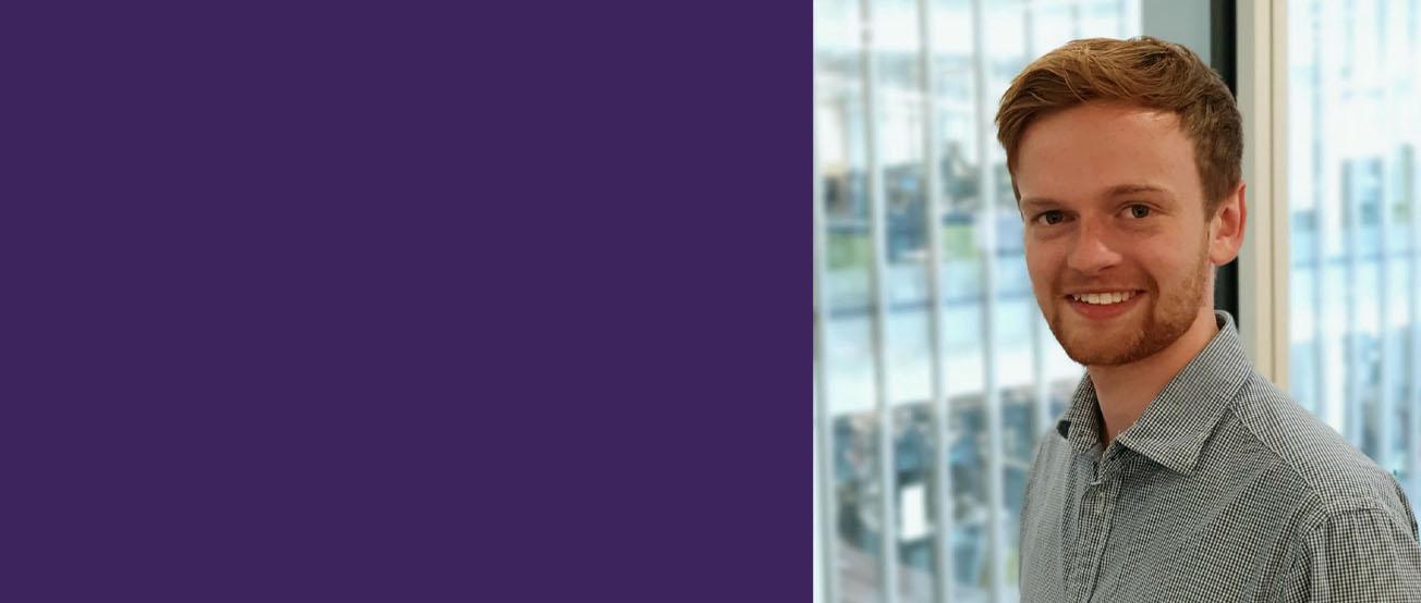Joshua Wales, graduate BA (Hons) Business Management with Marketing