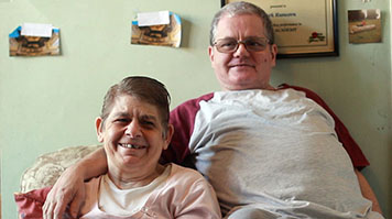 Mark and Neval of the Supported Loving campaign