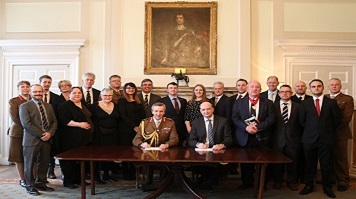 Armed Forces Covenant Gold Award presentation