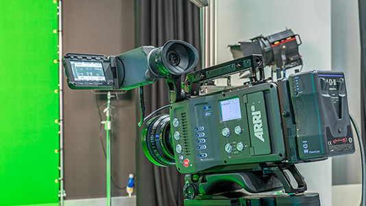 Inside the Film Studio