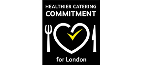 Healthier catering commitment logo