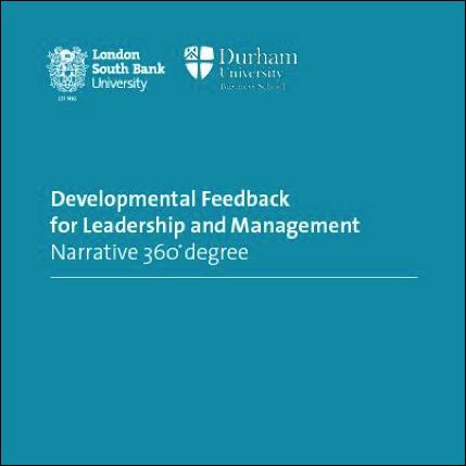 Developmental Feedback for Leadership and Management