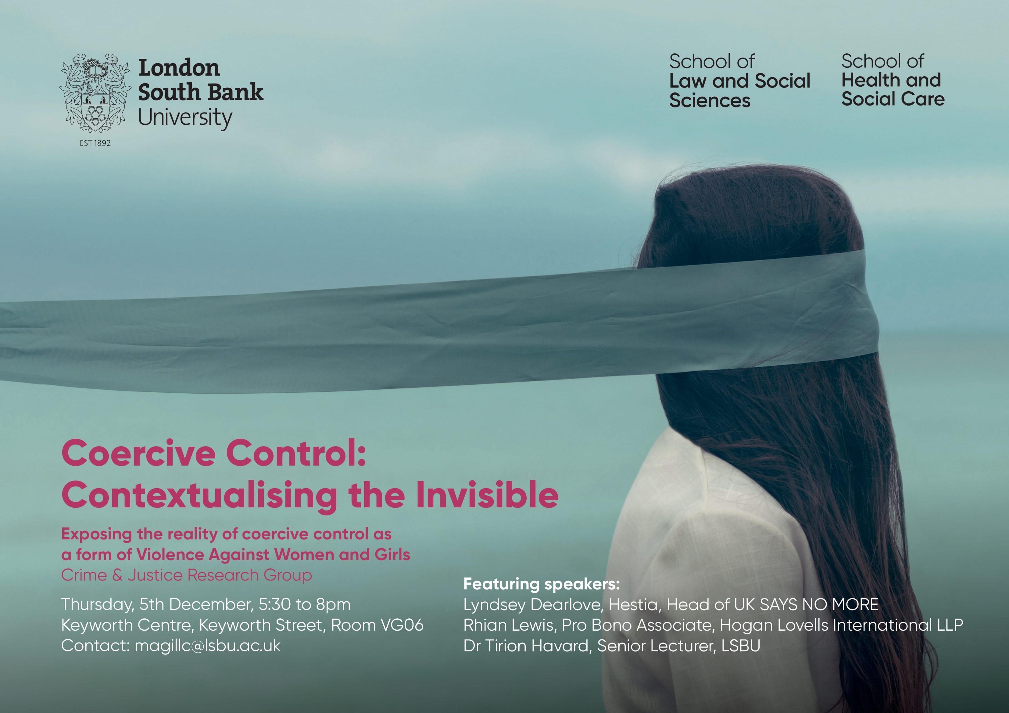 Coersive control poster