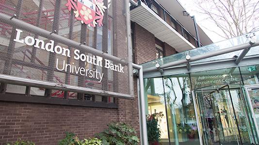Entrance to London South Bank University