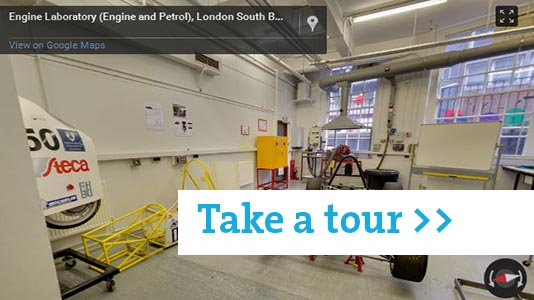 Engine and Petrol Labs tour