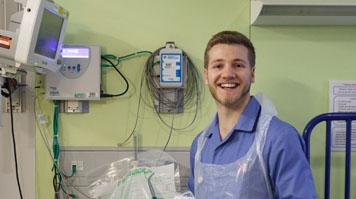 Oliver Hutley, BSc Children's Nursing (Hons)