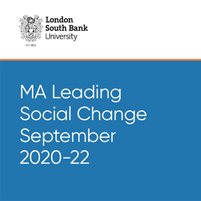 MA Leading Social Change