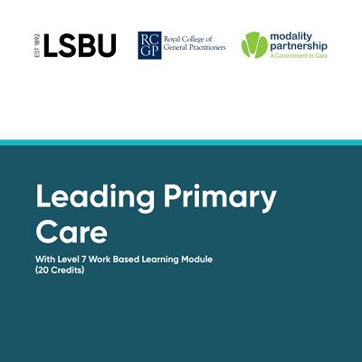 Leading Primary Care
