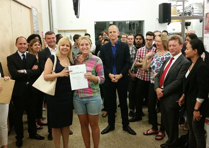 Bethany Brown, architecture prize winner
