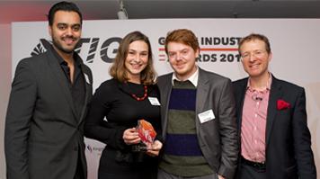 Roberta Saliani, alumna, winner of prestigious TIGA Games Industry Award