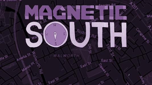 Magnetic South Elephant - Purple