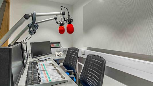 Inside the Radio Studio